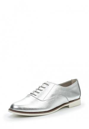 Ботинки Aldo. Цвет: серебряный