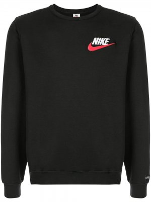 Толстовка Nike x Supreme. Цвет: черный