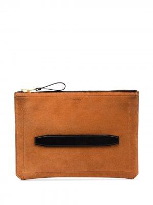 Папка для документов Tom Ford. Цвет: оранжевый