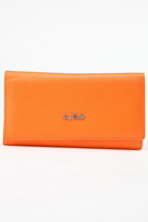 Кошелек Tony Perotti. Цвет: оранжевый