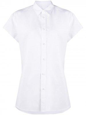 Рубашка свободного кроя Maison Margiela. Цвет: белый