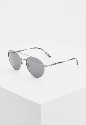 Очки солнцезащитные Giorgio Armani. Цвет: серый