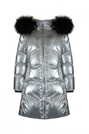 Пальто STEFANIA. Цвет: серый
