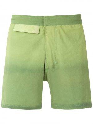 Плавки-шорты Amir Slama. Цвет: зеленый