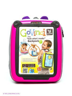 Рюкзак «Рисую и путешествую» BenBat. Цвет: розовый