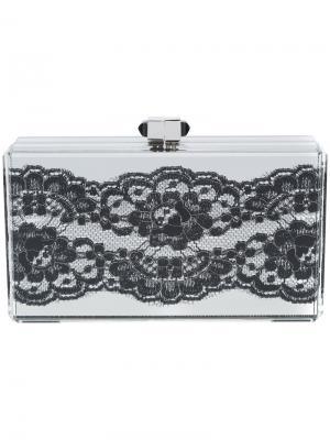Прямоугольный клатч Boudoir Judith Leiber Couture. Цвет: металлический
