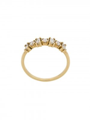 Золотое кольцо Baguette с бриллиантами Ileana Makri. Цвет: желтый