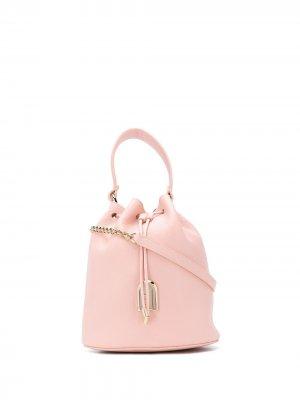 Сумка-ведро Sleek Furla. Цвет: розовый