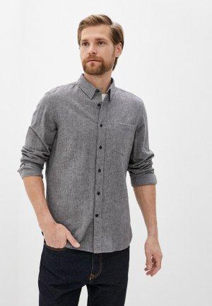 Рубашка French Connection. Цвет: серый