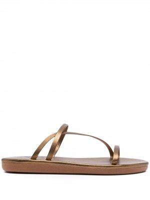 Сандалии Parthena Ancient Greek Sandals. Цвет: золотистый