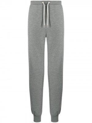 Спортивные брюки с вышивкой Billionaire. Цвет: серый