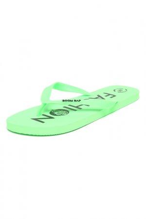Шлепанцы BOOM BAP. Цвет: green