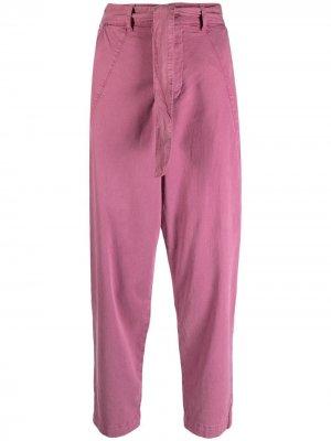 Прямые брюки Parker Ba&Sh. Цвет: розовый
