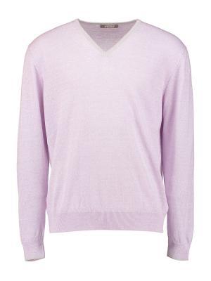 Пуловер Andrea Fenzi. Цвет: фиолетовый