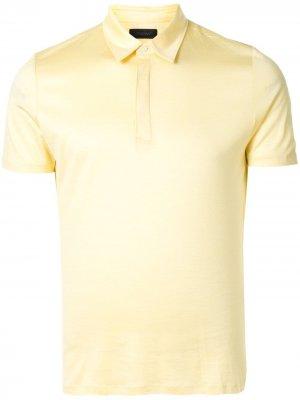 Durban рубашка поло с короткими рукавами D'urban. Цвет: желтый
