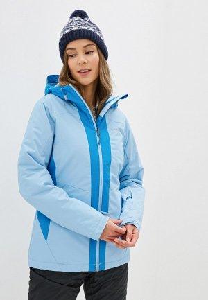 Куртка горнолыжная Columbia. Цвет: голубой