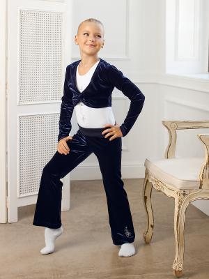 Болеро Arina Ballerina. Цвет: темно-синий
