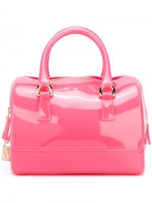 Сумка-тоут Candy Furla. Цвет: розовый и фиолетовый