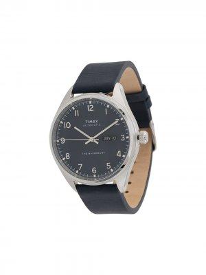 Наручные часы Waterbury Automatic 42 мм TIMEX. Цвет: серебристый