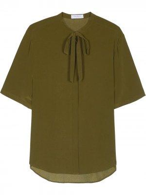 Блузка Felicien Equipment. Цвет: зеленый