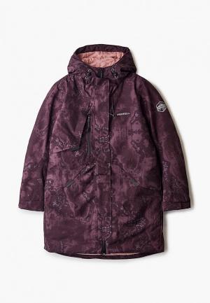 Куртка утепленная Merrell. Цвет: бордовый
