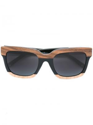 Солнцезащитные очки 93 C2 Linda Farrow x 3.1 Phillip Lim. Цвет: черный