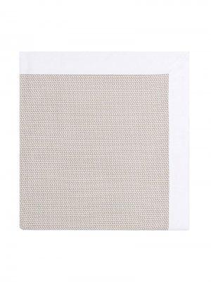 Вафельный коврик для переодевания Fendi Kids. Цвет: нейтральные цвета
