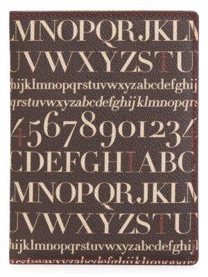 Обложка для паспорта Didot Assouline. Цвет: коричневый