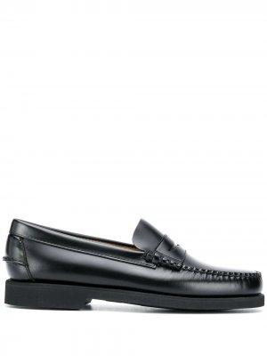 Лоферы с закругленным носком Sebago. Цвет: черный