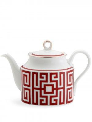 Чайник Labirinto GINORI 1735. Цвет: красный
