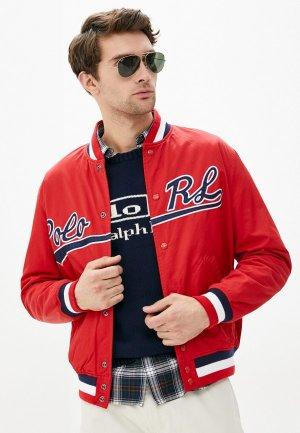 Куртка утепленная Polo Ralph Lauren. Цвет: красный