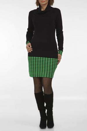 Платье MONO collection. Цвет: черный