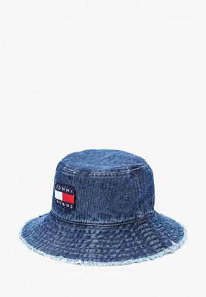 Панама Tommy Jeans. Цвет: синий