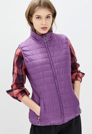 Жилет утепленный Baon. Цвет: фиолетовый