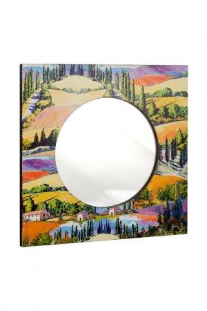 Зеркало настенное GIFTNHOME GIFT'N'HOME. Цвет: зеленый