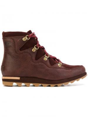 Ботинки Sneakchic Alpine Sorel. Цвет: красный