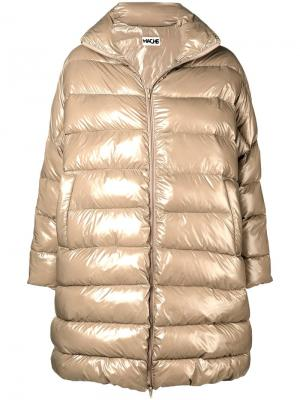Oversized puffer coat Hache. Цвет: нейтральные цвета