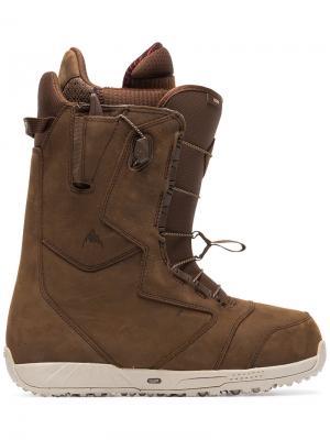 Ботинки для катания на сноуборде Red Wing® Ion Burton Ak. Цвет: коричневый