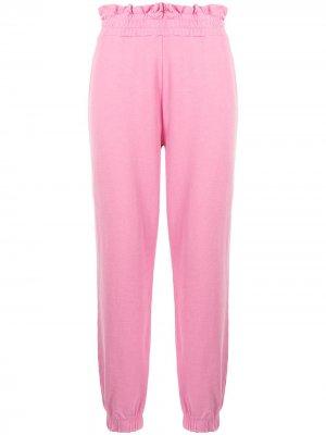 Спортивные брюки Mirabella LoveShackFancy. Цвет: розовый