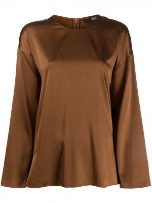 Блузка оверсайз Steffen Schraut. Цвет: коричневый