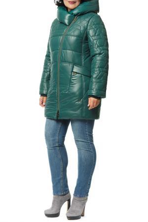 Куртка D`imma. Цвет: зеленый