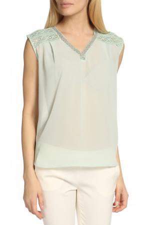 Блуза BGN. Цвет: зеленый