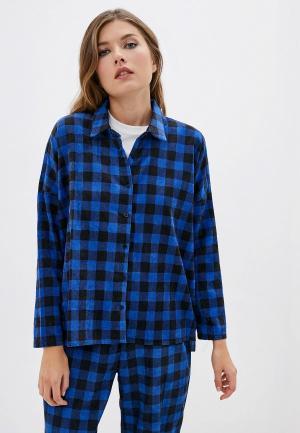 Рубашка Compania Fantastica. Цвет: синий