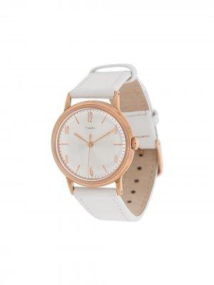 Наручные часы Marlin 34 мм TIMEX. Цвет: белый