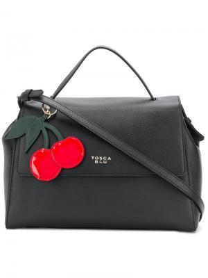 Cherry tag tote Tosca Blu. Цвет: черный