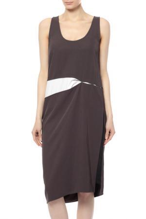 Платье Acne Studios. Цвет: серый