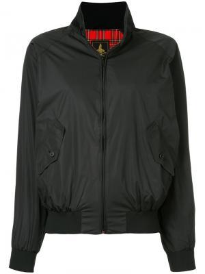 Куртка-бомбер с воротником-стойкой Hysteric Glamour. Цвет: черный