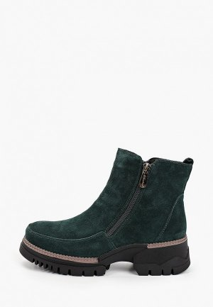 Ботинки La Grandezza. Цвет: зеленый