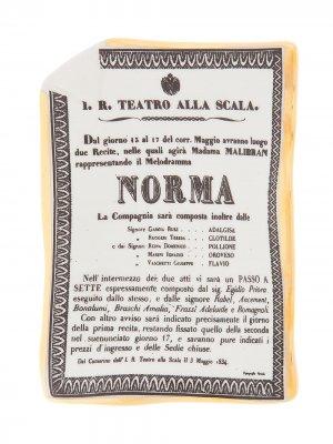Пепельница Norma с золотистой огранкой Fornasetti. Цвет: серый