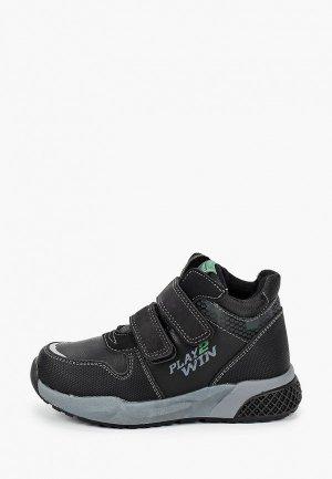 Ботинки Kenkä. Цвет: черный